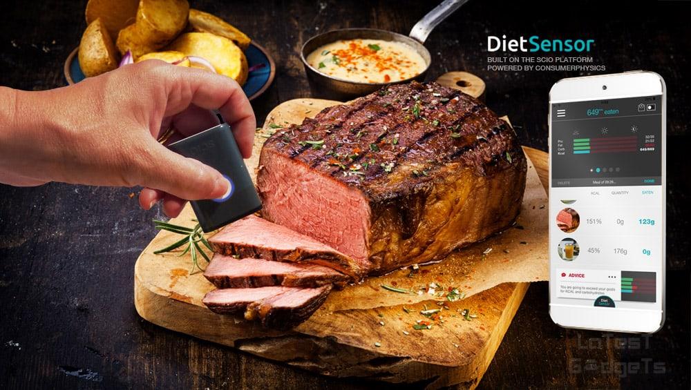 DietSensor's SCiO on roast beef