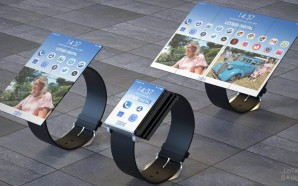 IBM foldable tablet watch