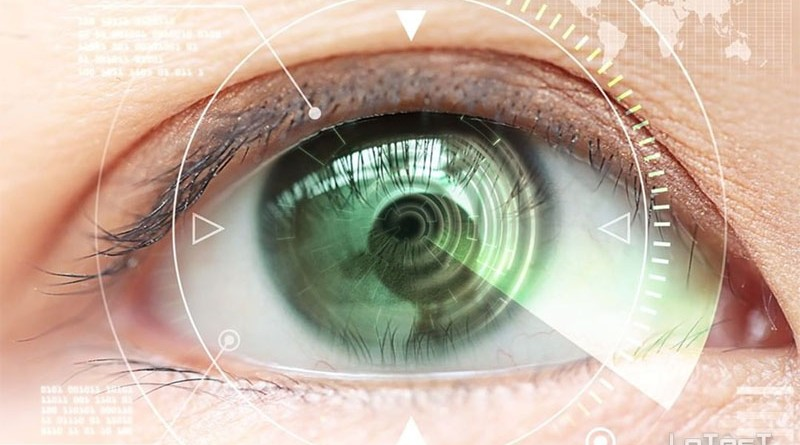 robotic zoomable contact lens